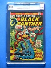 Jungle Action #7 - Featuring Black Panther - CGC 8.0 - 1st App. of Venomm