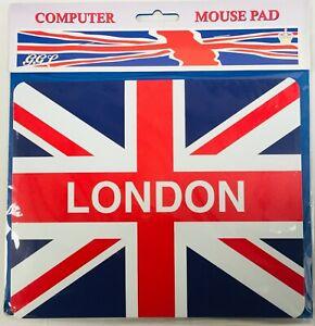 Union Flag London Computer Mouse Mat 220mm x 180mm (gg)