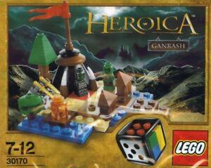 Lego Heroica Ganrash 30170 Polybag BNIP ***Extremely Rare***