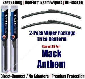 2-Pack Super-Premium NeoForm Wipers fit 2019+ Mack Anthem - 16200x2