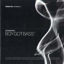 DJ Emerson - Boy Got Bass 2 - CD MIXED - Kiddaz.FM Mix Series TECHNO TECH HOUSE