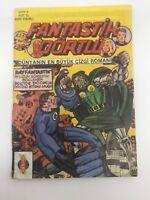 FANTASTIC FOUR #3 - Turkish Comic Book - 1980s - MARVEL - Ultra Rare