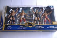 WWE Mattel Elite Hall Of Fame The Four Horsemen Boxed set Ric Flair WCW