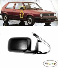 VW GOLF MK2 II 1988 - 1991 NEW WING MIRROR CABLE MANUAL BLACK RIGHT O/S LHD