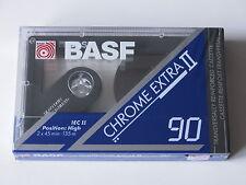 BASF Chrome EXTRA II 90 MC 's OVP SEALED! CASSETTA MUSICA DI 1991 per collezionisti