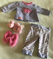 Our Generation Doll Clothes Morning Noon and Night Pyjamas Outfit (6a)