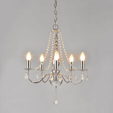 Elegante Lampadario + cromo cristallo Lampada soffitto plafoniera