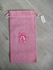 Pink Ballet Shoe Dance Bag   Plimsolls School NEW