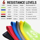 Resistance Bands Exercise Sports Loop Fitness Home Gym | Workout Yoga Latex UK