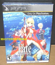 Fate/Extra: Limited Edition New Sealed (Sony PSP, 2011) PlayStation