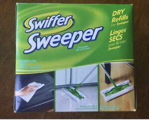 """Lot of 28) BRAND NEW Swiffer Sweeper Dry Cloth Refill Pads 10.4"""" x 8.0"""""""