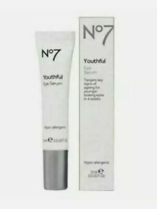 No7 youthful eye serum - 15ml BOXED