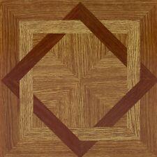 Vinyl Floor Tiles Self Adhesive Peel And Stick Oak Wood Grain Flooring 45pc