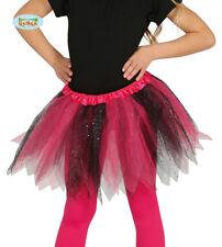 Children's Black Pink Sparkle Tutu
