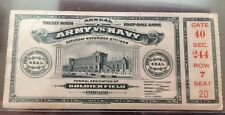 1926 ARMY/NAVY FOOTBALL GAME TICKET SOLDIER FIELD DEDICATION GAME