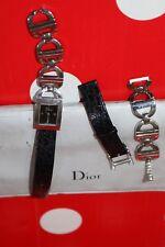 Christian Dior Authen Ladies Wrist watch Paris Swiss Made  D78-109 EM1409