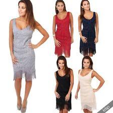 Flapper Dresses for Women with Fringe