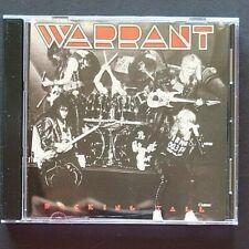 Warrant - Rocking Tall (CD, 1996) Free Shipping!