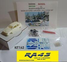 1/43 Mazda 323 Turbo Rally Svezia 1987 Carlsson Kit