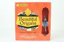 Beautiful Origami w 33 Classic Japanese Folds Easy Papercraft New