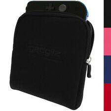 Black Neoprene Sleeve Protective Travel Pouch Carry Case Cover for Nintendo 2DS