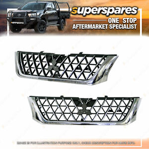 Superspares Grille for Mitsubishi Triton 4WD MK 2001-2006 Brand New