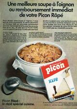 N- Publicité Advertising 1969 Le Fromage rapé Picon