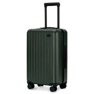 """Green Carry-On 22"""" x 14"""" x 9"""" Hard Shell Spinner Luggage! GoPenguin Travel Away!"""