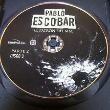 Pablo Escobar Parte 2 Disc 3 Replacement Disc  DVD ONLY