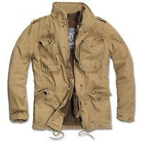 Brandit - M65 Giant Feldjacke Camel Parka US Style Jacke mit Futter