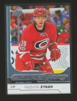 (75986) 2017-18 UPPER DECK YOUNG GUNS VALENTIN ZYKOV #467 RC