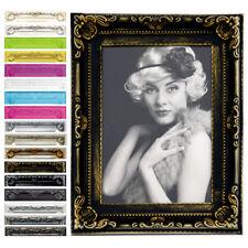 Bilderrahmen Barock Antik Kunststoff Fotogalerie Collage 15 Farbe in 6 Größe #51