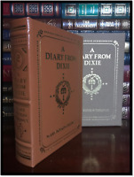 Easton Press A Diary From Dixie Mint Leather Bound Illustrated Civil War Memoir