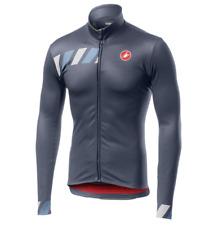 Castelli Cycling Pisa Jersey FZ -Dark Steel Blue Size Large