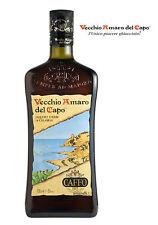 Vecchio Amaro del Capo 1 Liter Liquore D`Erbe - Käuterlikör Kalabrien Caffo 1L