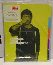 One Direction Office Depot Limited Edition Binder Dividers 021120AMT