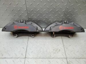 2015-2019 Mustang GT Performance Brakes Brembo Calipers 10K Miles Left Right