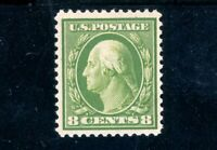 USAstamps Unused VF US Series of 1908 Washington Scott 337 OG MVLH