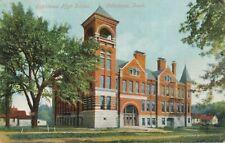 OSKALOOSA IA - Oskaloosa High School - 1909