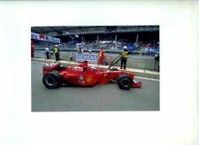 Mika Salo Ferrari F399 Austrian Grand Prix 1999 Signed Photograph 5