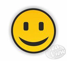 Carita Feliz Amarilla Happy coche van Sticker Calcomanía De Pegatinas Divertidas pegatina