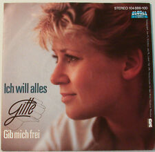 "GITTE HAENNING - ICH WILL ALLES - GIB MICH FREI - GLOBAL R.   [F119] 7""SINGLES"