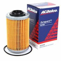 Oil Filters ACDelco 4 pack suits Holden VZ VE VF V6 Commodore 3.6l 3.0 2004-2017