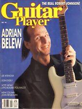 GUITAR PLAYER SEP 1990 / ADRIAN BELEW / Lee Ritenour-Don Everly-Robert Johnson