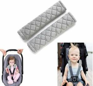 2pcs Car Seat Straps Shoulder Pads for Baby Seat Belt for Car Seats/ Pushchair