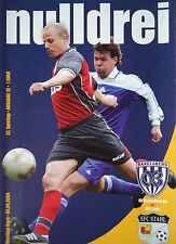 Programm 2003/04 SV Babelsberg - Eisenhüttenstädter FC Stahl