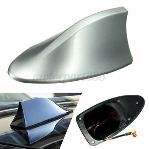 Silver Universal Auto Car Roof AM FM Radio Antenna Signal For Holden Commodore