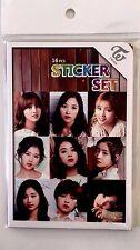 TWICE Stickers Set  New 16 pcs Fan Goods K pop Goods Girl Team All Members 1 EA