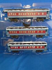 LIONEL O Scale POLAR EXPRESS ALL 3 PASSENGER CARS 6-84328 NEW ORIGINAL