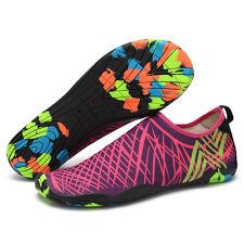 Women's Water Aqua Wet Shoes Quick Drying Beach Walking Sport Slip On Exercise